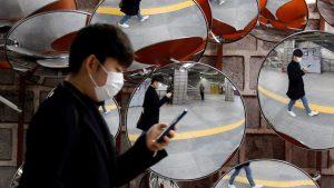 V J. Koreji ustvarili zemljevid okuženih