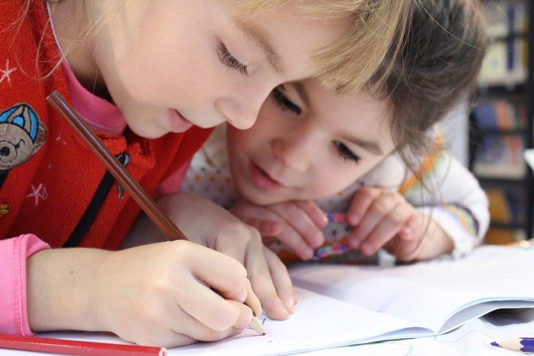 otroci, šola, učenje