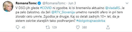 Romana Tomc o DSO