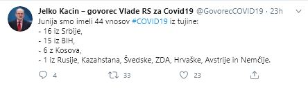 Vnosi COVID-19 iz tujine