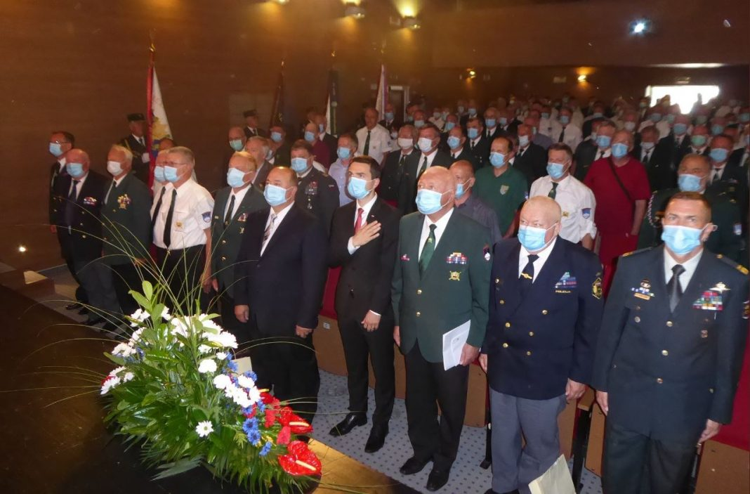 Zbor Zveze veteranov vojne za Slovenijo v Lenartu