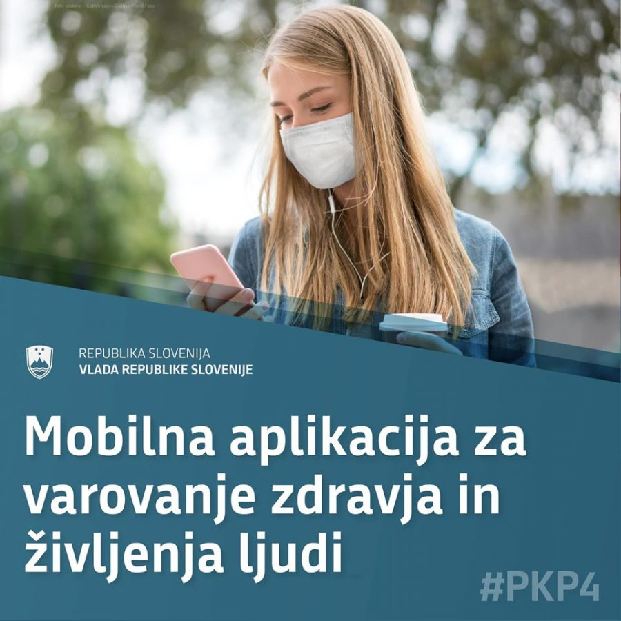 Aplikacija za varovanje zdravja in ljudi