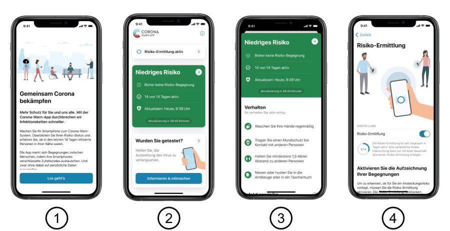 Izgled in delovanje mobilne aplikacije