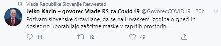 Poziv Slovencem na Hrvaškem